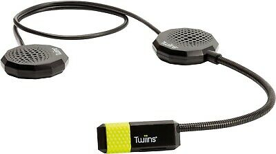 Twiins Phone And Music Hands Free 2.0 HF2 Dual For Crash Helmet New  • 49.99£