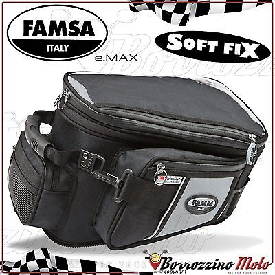 FA244/15 Bag Mens Tank Famsa E-Max Std With Base Suzuki DL V-Strom 1000 2007 • 54.12£