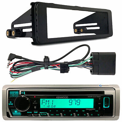 Harley Touring Pioneer Single DIN Bluetooth Radio Receiver With Adapter Kit • 127.38£