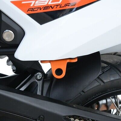 KTM 790 Adventure / XTZ700 Tenere 19- R&G Orange Tie Down Hooks & Ratchet Straps • 63.20£