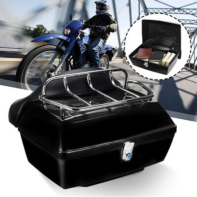 Motorcycle Scooter Motorbike Luggage Rear Back Top Tail Box Case 48L / // ^^ • 73.99£