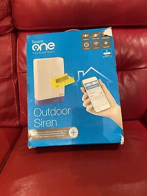 Swann One Smart WiFi Outdoor Siren, IOS & Android Compatible New • 35£