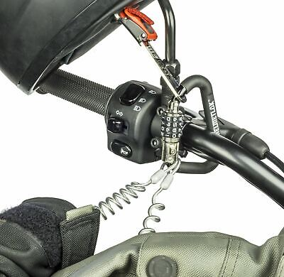 Helmetlok Key Free Security Combination Helmet Lock With Steel Cable And T Bar • 23.95£