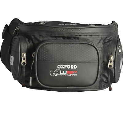 Oxford XW3R Motorcycle Waist Pack Bum Bag Motorbike 3 L Pouch Luggage GhostBikes • 25.19£