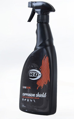 Motorcycle Anti Corrosion Rust Protection R&G Motorbike Gleam Shield Spray 750ml • 10.95£