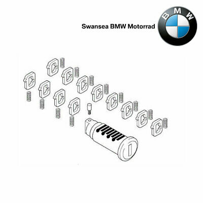 BMW Motorrad Genuine Adjustable Lock Barrel - Fits ONLY Alloy Top Case Pannier • 25.99£