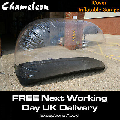 Motorcycle MOTORBIKE Cover Indoor  Inflatable Air Bubble 260cm X 75cm X 160cm • 195£