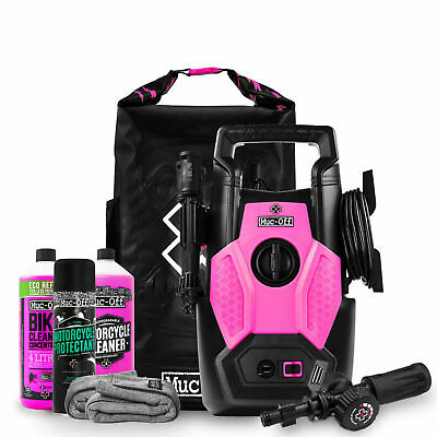 Muc Off Motorcycle / Cycle / Pressure Washer Bundle Kit With Snow Foam Lance • 139.99£