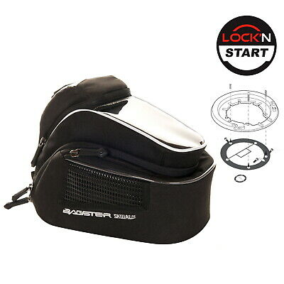 SUZUKI V-Storm 1050 XT 2020 XSR170 Bagster Tank Bag Navix 6L & Lock Start Kit • 99.99£