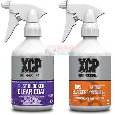 XCP Rust Blocker High Performance Motorcycle Corrosion Protection Spay Twin Set • 33.99£