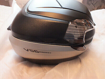 Givi V56 Black Top Box Carbon Look Clear Reflectors Never Been Used • 175£