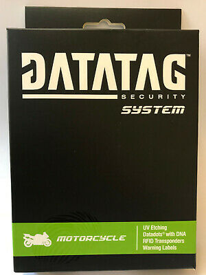 New Insurance Approved DataTag Motorbike Motorcycle Anti Theft ID Security Kit • 65.98£