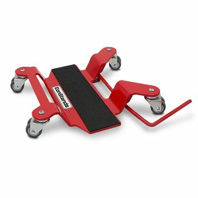Motorcycle Motorbike Turntable Mover Skate Wheel Dolly ConStands Red • 73.08£