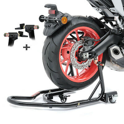 Motorcycle Rear Paddock Stand MV KTM 125 SX Dolly Mover • 94.78£