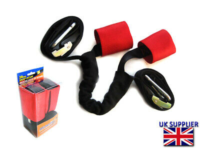 Tie Down Straps For Transporting Classic Cruiser Race Motorbike • 34.65£