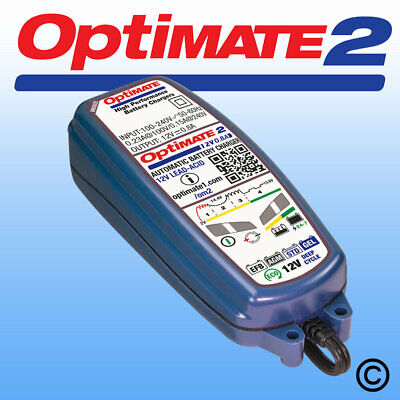 OptiMate 2 Motorcycle AGM STD GEL 12V Battery Charger Optimiser • 41.69£