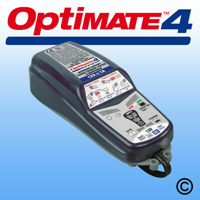OptiMate 4 Dual Program AGM STD GEL 12V Motorcycle Battery Charger Optimiser • 58.90£