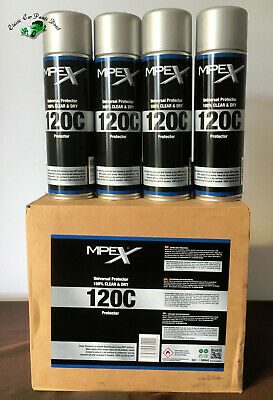 4 X 500ml MPEX 120c Clear Anti Corrosion Protector SIMILAR TO ACF 50 • 27.95£