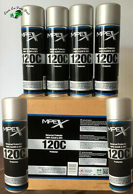 6 X 500ml MPEX 120c Clear Anti Corrosion Protector Similar To ACF50 • 39.95£