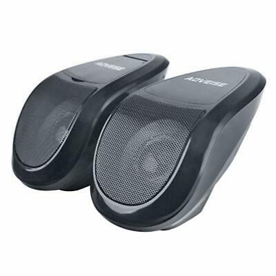 AOVEISE MT493 2x Motorcycle Bluetooth Speaker MP3 Audio System FM Radio Player • 21.99£