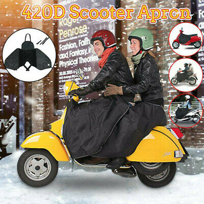 Scooter Apron Wind Rainproof Protection Winter Leg Warmer Knee Blanket Cover New • 26.49£