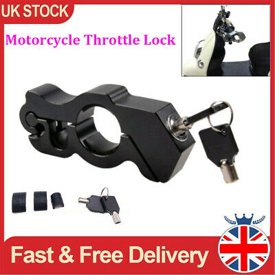Motorcycle Grip Lock Handlebar Throttle Motorbike Bike Brake Heavy Duty Security • 15.19£