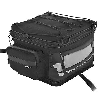 Oxford OL446 Motorbike Motorcycle F1 Tail Pack Bike Outdoors Luggage Large 35L • 61.69£