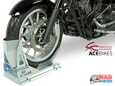 Acebikes Steadystand Multi Motorcycle Motorbike Wheel Chock,Transport Stand Stay • 104.99£