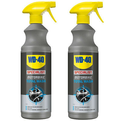 WD-40 Specialist Motorcycle Motorbike All Over Total Wash 1L Bike Cleaner X 2  • 14.99£