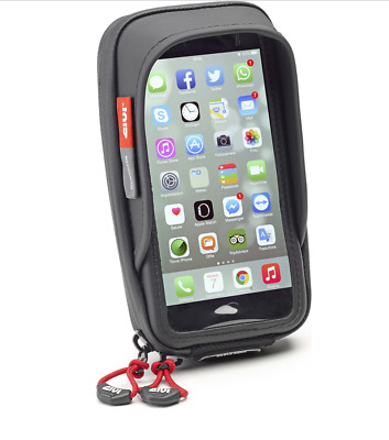 Givi S957B Smartphone Holder Motorcycle Scooter, Samsung Galaxy S7 IPhone 7 Plus • 41.31£
