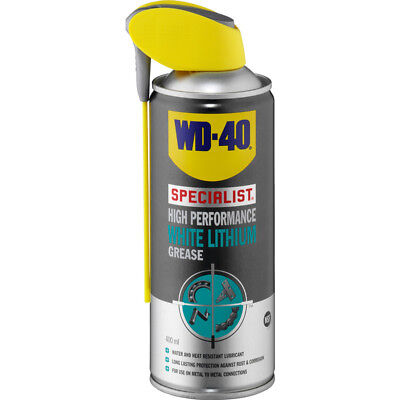 WD-40 Specialist Motorcycle Bike High Performance White Lithium Grease (400ml)  • 11.49£