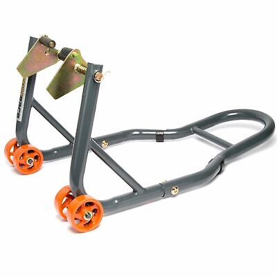 MPW Race Dept - Motorcycle Front Paddock Stand In Grey/Orange • 29.99£