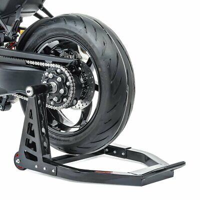 Single Sided Rear Paddock Stand For Triumph Speed Triple RS 18-20 PT1 Alu Black • 134.44£