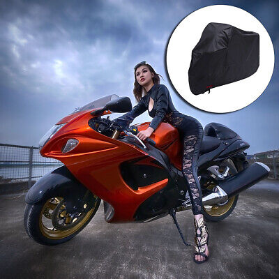 Motorcycle Cover Outdoor Protection Waterproof 210D Durable&Tear Proof Cover 1X • 18.99£