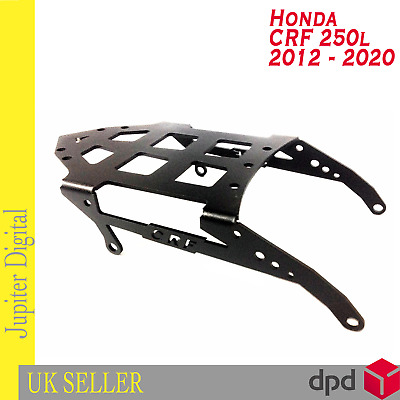 Rear Carrier Rack For Top Case Luggage Fits Honda CRF250L - UK Stock • 36.99£