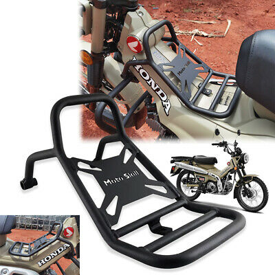 Steel Center Rack Carrier Luggage For Honda CT125 Trail 125 Hunter Cub 20 2021 • 89.49£