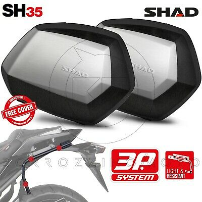 Suitcases Side SHAD SH35 + Frame 3P System Honda Africa Twin CRF1000L 2018 • 487.10£